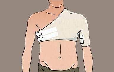 So legen Sie den Schulterwickel richtig an