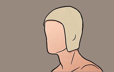So wenden Sie die Kopfhaube an